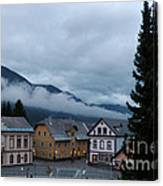 Kranjska Gora - Autumnal Evening Canvas Print