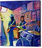 Kris Lager Band At Sanchos Broken Arrow Canvas Print