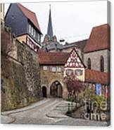 Kronach Franconia 3 Canvas Print