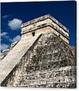 Kukulkan Pyramid At Chichen Itza Canvas Print