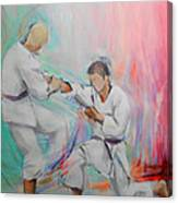 Kumite Canvas Print