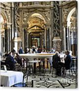 At The Kunsthistorische Museum Cafe II Canvas Print