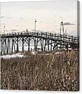 Kure Beach Pier Canvas Print