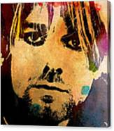 Kurt Cobain 3 Canvas Print