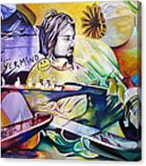 Kurt Cobain- It Aint Medicine Kurt Canvas Print