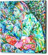 Kurt Cobain Portrait.10 Canvas Print