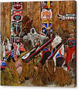 Kwakiutal Canvas Print