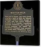 Ky-1754 Whitehaven Canvas Print