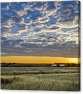 Kyle Barn Sunrise Canvas Print