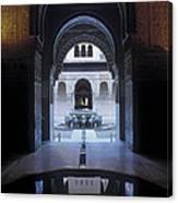 La Alhambra Patio De Los Leones Canvas Print