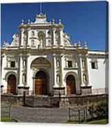 La Antigua Cathedral Canvas Print