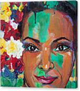 La Bailarina Canvas Print