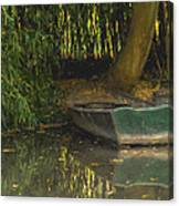 La Barque A Giverny Canvas Print