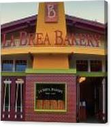 La Brea Bakery Downtown Disneyland Canvas Print