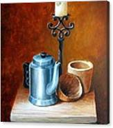 La Cafetera Canvas Print