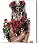 La Calavera Catrina Canvas Print