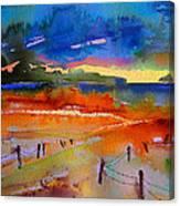 La Camargue La Nuit Canvas Print