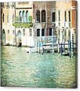 La Canal - Venice Canvas Print
