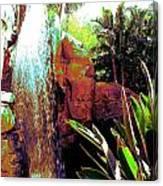 La Cascade  Canvas Print