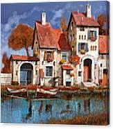 La Cascina Sul Lago Canvas Print