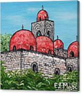 La Chiesa Di San Giovanni Degli Eremiti  Canvas Print