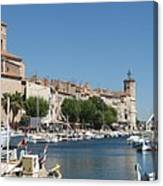 La Ciotat Harbor Canvas Print