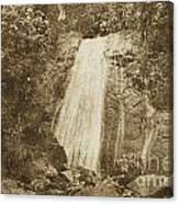 La Coca Falls El Yunque National Rainforest Puerto Rico Print Vintage Canvas Print