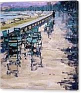 La Croisette Canvas Print