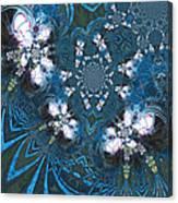 La Danse Des Papillons Canvas Print