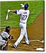La Dodgers Matt Kemp Canvas Print