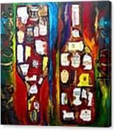 La Dolce Vino Canvas Print