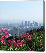 L.a. From Beverly Hills Canvas Print