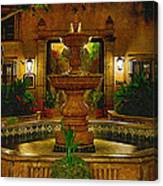 La Fuente At Tlaquepaque Canvas Print