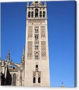 La Giralda Bell Tower In Seville Canvas Print
