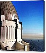 La Griffith Observatory Afternoon Canvas Print
