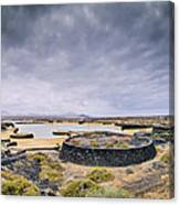 La Isleta On Lanzarote Canvas Print