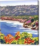 La Jolla Beach And Tennis Club Canvas Print