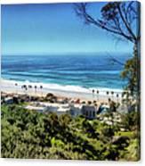 La Jolla Beach Canvas Print