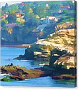 La Jolla California Cove And Caves Canvas Print
