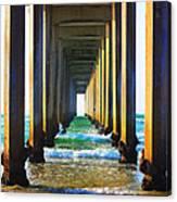 La Jolla California Pier Canvas Print