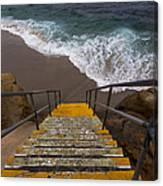 La Jolla Stairs 2 Canvas Print