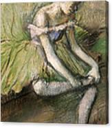 La Jupe Verte Canvas Print
