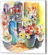 La Laguna Market 01 Canvas Print