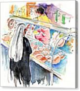 La Laguna Market 03 Canvas Print