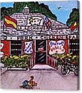 La Lechonera Restaurant Key West Florida Canvas Print