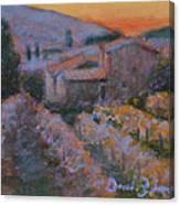 La Levata Del Sole Canvas Print