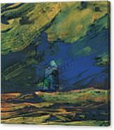 La Mancha De Noche Canvas Print