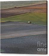 La Mancha Landscape - Spain Series-siete Canvas Print