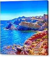 La Manga Seaside In Spain Canvas Print
