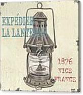 La Mer Lanterne Canvas Print